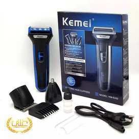 Kemei 3 in 1 - Model 6333 In New Condition Shaving Machine - Trimmer