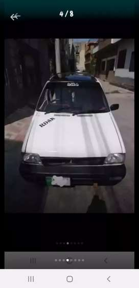 Mehran 1996 Model neat nd clean Lahore num