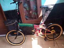 Sepeda Lipat Uk 20