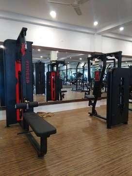 Gym full new  branded setup ( manufacturer )