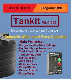Automatic Water Pump Controller, Dry Run Protectction |Tankit WLC-210|