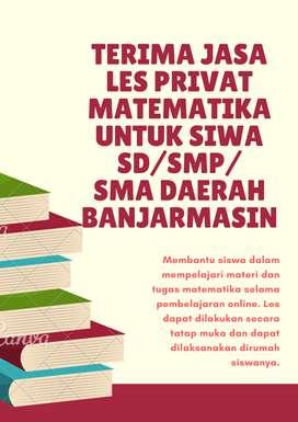 Les Privat matematika dari SD-SMA