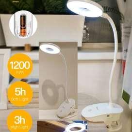 Lampu Jepit Lampu Meja LED Lampu Belajar LED Clip Circle