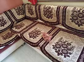 Couch covers + cousin cover set @1200