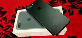 Iphone 7 plus 32 black only 5 mount used