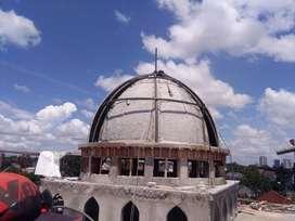 Kubah Masjid Jasa Kontraktor Profesional dan Handal