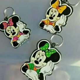 Souvenir gantungan kunci Micky Mouse Murah 100pcs_Rizky Souvenir
