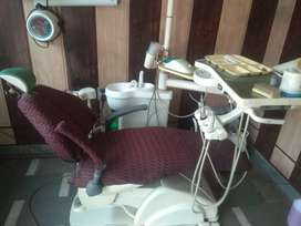 Electric dental chair fully functionalonly