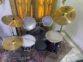 Jazz drum double symbol