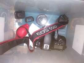 Dijual Kamera Canon 60D LENGKAP