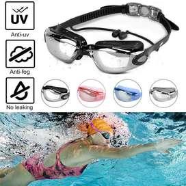 New kacamata renang anti fog uv