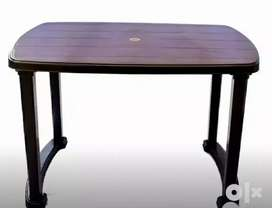 Brand new  Plastic Dining table high quality strong and sturdy
