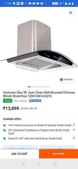 Hindware chimney Cleo 90
