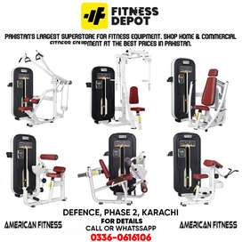 AMERICAN FITNESS BRAND GYM AND FITNESS MACHINE IMPORTED