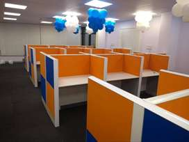 Modular workstations with best quality designs n colorful interior