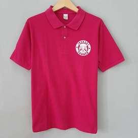 Polo Shirt United Athle Ibaraki Summer Pink Preloved Original