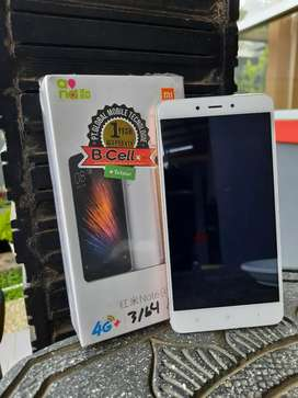 Dijual Xiaomi note 4 3/64 GB