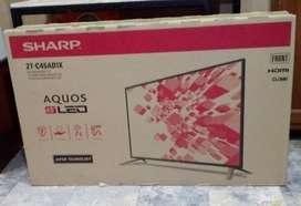 "BRAND NEW TV LED SHARP 45"" 2T-C45AE1X (Unnecessary gift)"