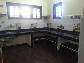2 BHK first floor house for rent near derebail AJ hospital