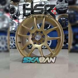 jual hsr wheel kamikaze ring 15x6,5 h8(114,3/100) di ska ban