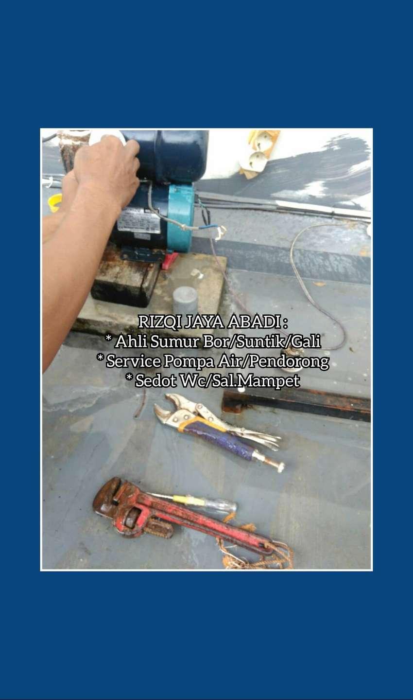 Service Pompa Air Servis Sanyo Pendorong Otomatis Suntik Sumur Jogja 0