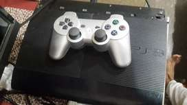 Ps3 used +12 game installed+jailbreak+netflix+youtube+12cds for sale