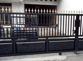 jual pagar rumah minimalis pekanbaru