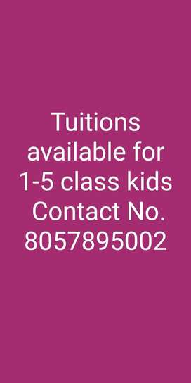 Tuitions for kids