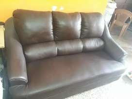 3 seater Brown Sofa in good condition.limited period only