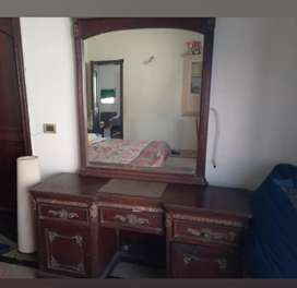 SOLID WOODEN DRESSING TABLE  FOR SALE  AT REASONABLE PRICE