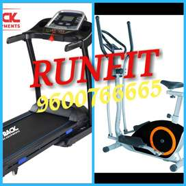 All new manufacturing treadmill and orbitrek by manufacturer