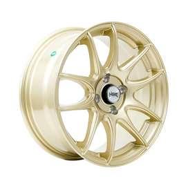 velg hsr Ring-16x7-H4x100-ET42-Gold1