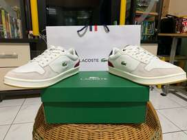 Leather Lacoste Trainer Shoes