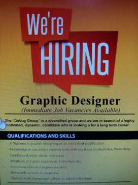 Requirement for designers