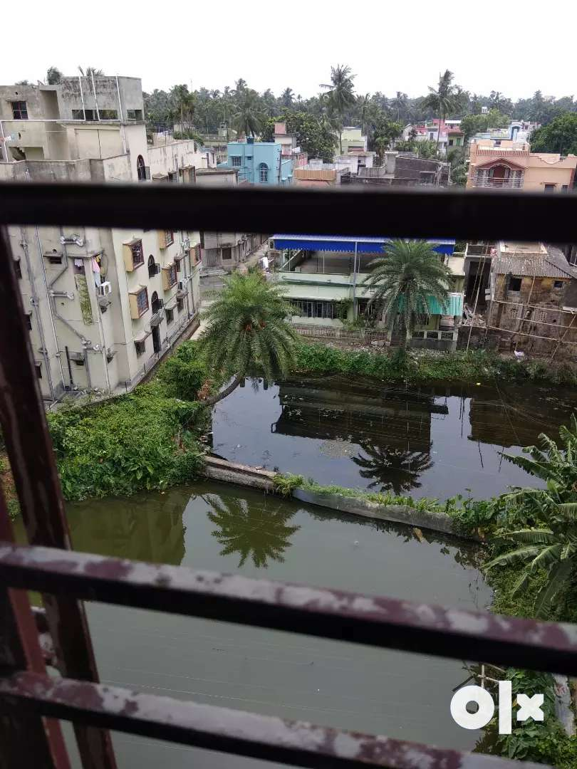Flat at Chandannagar with beautiful water body behind 0