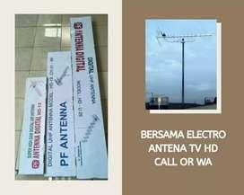 WORKSHOP PASANG BARU ANTENA TV TAPOS