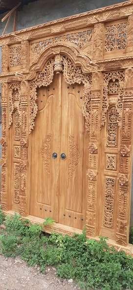 asmanah cuci gudang pintu gebyok gapuro jendela rumah masjid musholla
