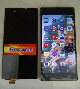 Lcd Touchscreen Sony Z5 Big Black White + Pasang