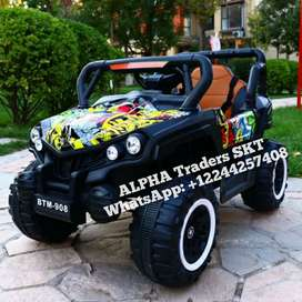 Kids Electric Car/SUV with 4 Wheels Suspension 2-9 years-old Children