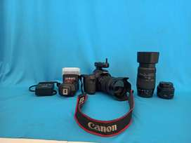 Canon70D with all kit