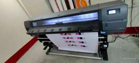ColourJet Solvent / HP Latex 335  Printing Machine