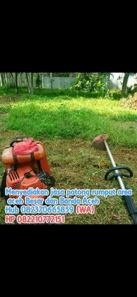 Menerima jasa potong rumput area banda Aceh dan Aceh Besar