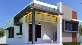 NEAR TRICHY INDIVIDUAL HOUSE SALE WITH CP