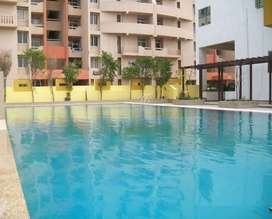 3BHK apartment with the 2 balconies, Modular kitchen, 2 washrooms