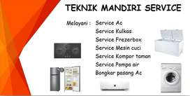 Service Mesin cuci | Kulkas | Frezerbox | Ac | Showcase | Pasang Ac