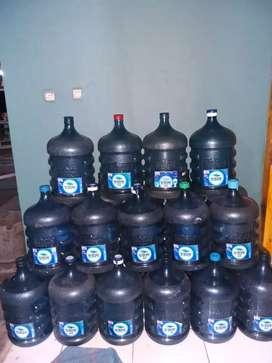 Galon Aqua Kosong 19 Liter Tidak Terpakai