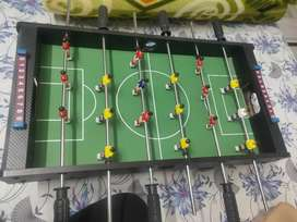 mini football, table soccer game,  6rods,(wooden) -Green