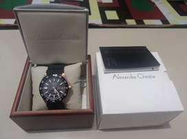Jam tangan Alexandre Christie Diver Original 100% Baru