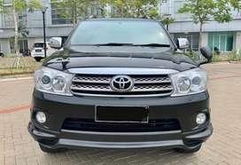 Toyota Fortuner Hitam 2.7G 2008 Antik KM 49ribu Pajak Panjang