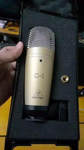 Behringer C-1 Condenser Microphone / Mic Condenser / Mic Rekaman